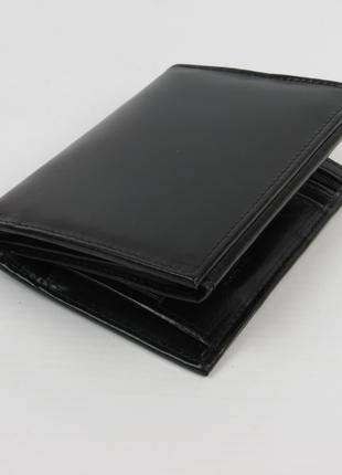 Мужское кожаное портмоне ALWAYS WILD SBLM06CFL черный