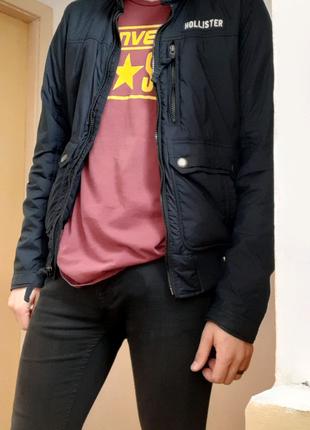 Курточка теплая (зима) Hollister