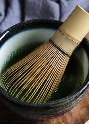 Часен – бамбуковый венчик для чая Матча (Маття)