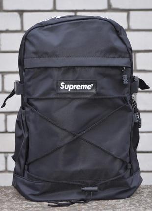 Рюкзак supreme bag black портфель сумка суприм черный женский ...