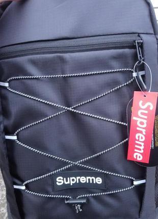 Рюкзак supreme big bag black портфель сумка суприм черный женс...