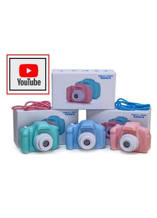 Цифровой Фотоаппарат X2 для детей от 3 лет Видео