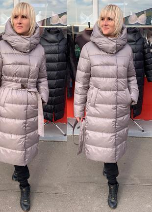 Женский пуховик, зимнее пальто, пуховик зима, пуховик женский