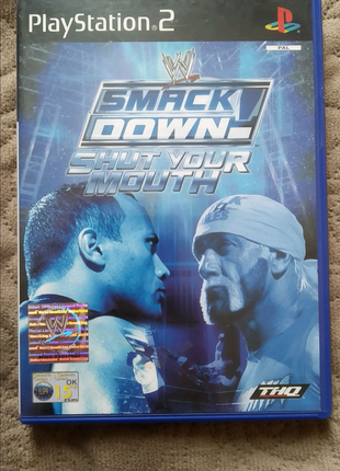 SmackDown! Shut Your Mouth ps2 (PlayStation 2)