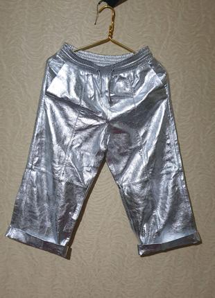 Штаны брюки кожа кожаные