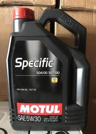 Motul SPECIFIC 504 00 507 00 5W-30 5/1L