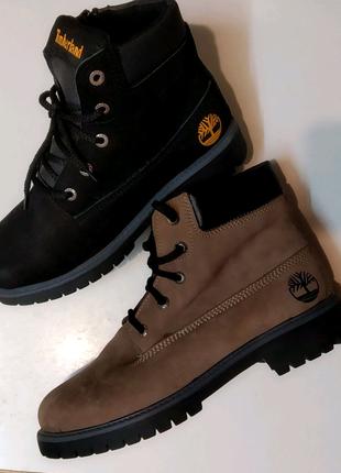 Зимние натуральные ботинки 32-39 размер