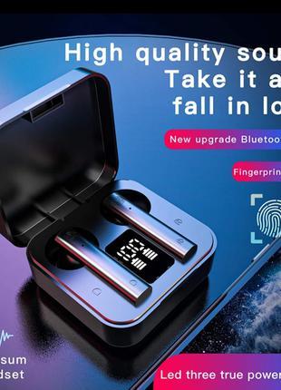 Беспроводные наушники Xiaomi Redmi Mi Air 2 Airdots Копия Чёрные