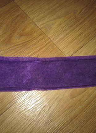 Флисовая повязка для косметических процедур