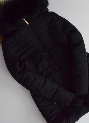 Теплое пальтишко на 9-10л,плотный синтепон и флис