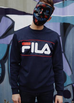 FILA Dark Blue Sweatshirt Свитшот Фила світшот Філа