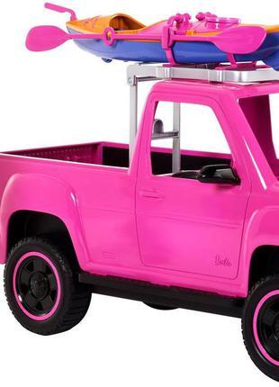 Ігровий набір Mattel Barbie Camping Pink Truck Sea Kayak Кемпінг