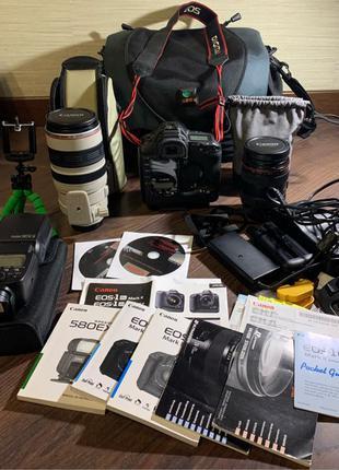 Canon фотоаппарат/объективы/вспышка. Срочно. Продаю всё вместе
