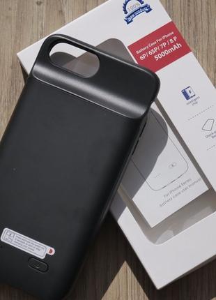 Чехол зарядка чехол Power bank на айфон Iphone 7/7plus 8 X 500...