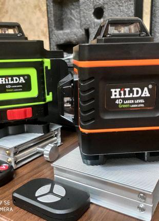 Лазерный уровень HILDA 4D