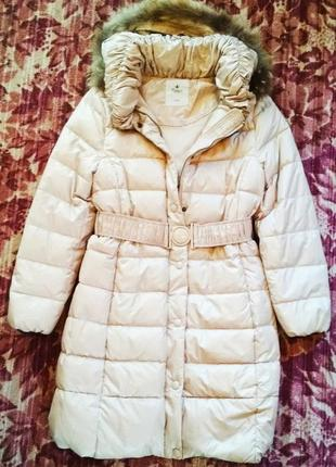 Пуховик пальто фирменный,новый