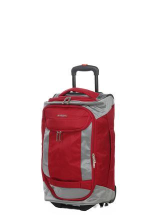 Сумка на колесах Airtex 611 малая 55 x 28 x 24 Красная