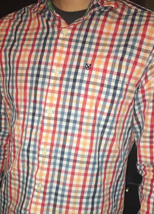 Рубашка мужская barbour барбур