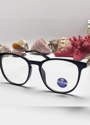 Женские стильные имиджевые очки. компьютерные очки