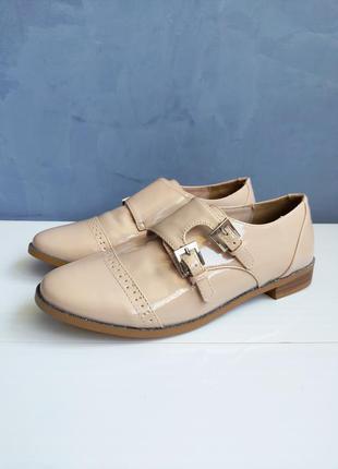 Лаковые детские туфли дерби mademoiselle r