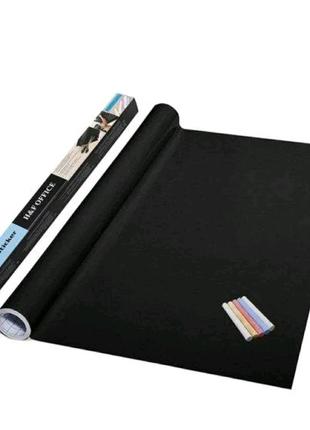 Самоклеющаяся пленка для рисования мелом Black Board Sticker, дос