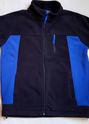 Толстая теплая спортивная флисовая куртка yigga германия на ро...