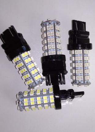 Суперяркие LED лампы на 68 SMD (оранжевые и белые)