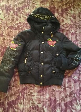 Куртка тёплая женская осень зима