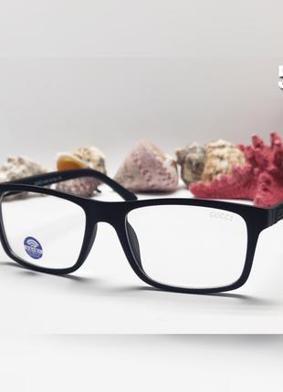 Мужские имиджевые  компьютерные очки  в матовой оправе