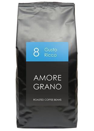 Кофе Amore Grano Gusto Ricco (1 кг), зерно