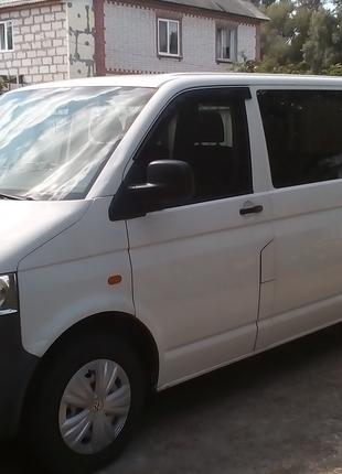 Пассажирские перевозки микроавтобусом  VW-T5 до 8 человек