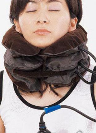 Надувной ортопедический воротник для шеи Ting Pai