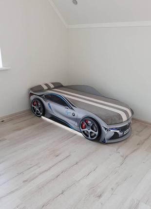 Детская машинка-кровать