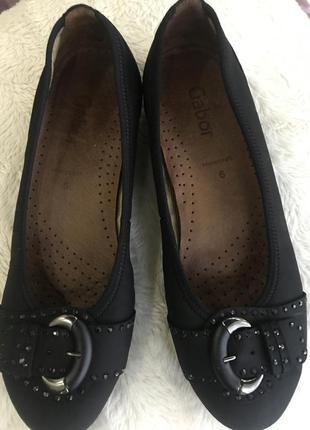 Туфли-лодочки фирмы gabor разм 39-40