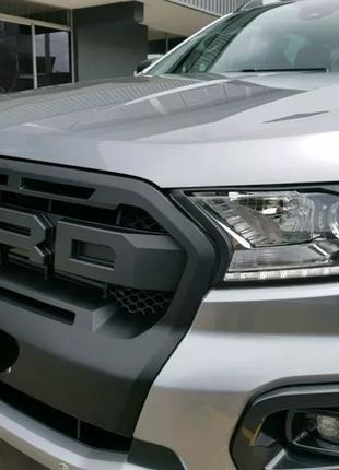 Решетка радиатора Ford Ranger Wildtrak T7.5 (2019+) стиль Raptor