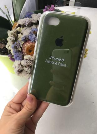 Чохол apple silicone case for iPhone 7/8