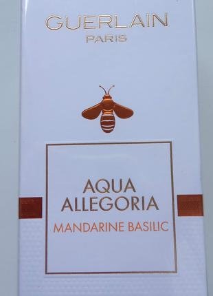 Guerlain Aqua Allegoria Mandarine Basilic код 3 346470 106130