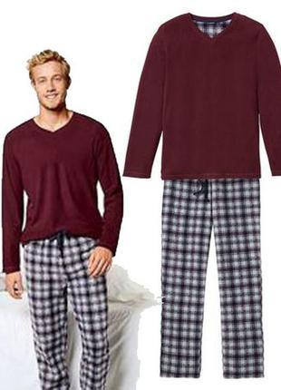 Теплый флисовый костюм, пижама из флиса, xl 56-58, livergy, ге...