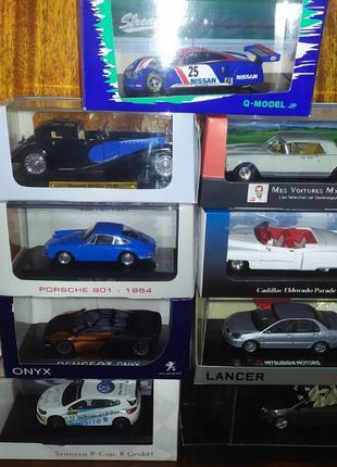 Коллекционные модели 1/43 Atlas, Altaya, Norev, Maxicar, Motorama