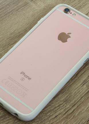 """Бампер для: Apple iPhone 6/6S """"White"""""""