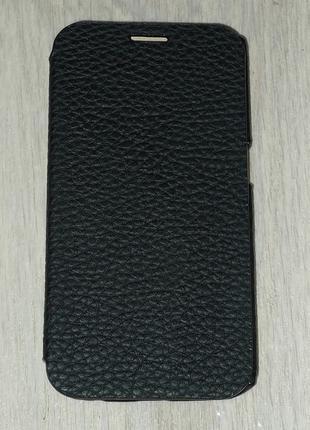 Чехол Avatti для Samsung G925 S6 Edge черный 0135