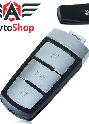 Корпус ключа Volkswagen Passat B6 Passat CC на 3 кнопки Пассат Б6