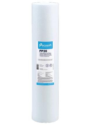CPV452020ECO Ecosoft PP20-20BB 20 мкм Картридж из полипропилена