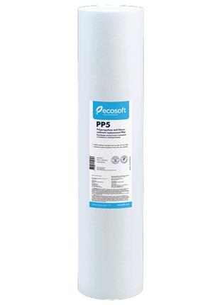 CPV45205ECO Ecosoft PP5-20BB 5 мкм Картридж из полипропилена