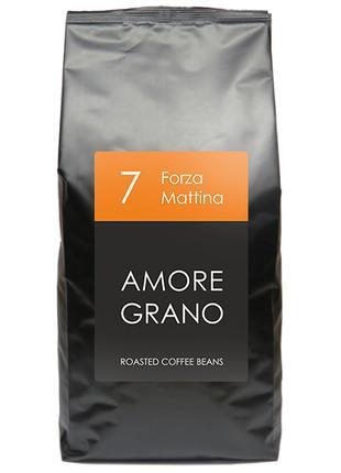 Кофе Amore Grano Forza Mattina (1 кг), зерно