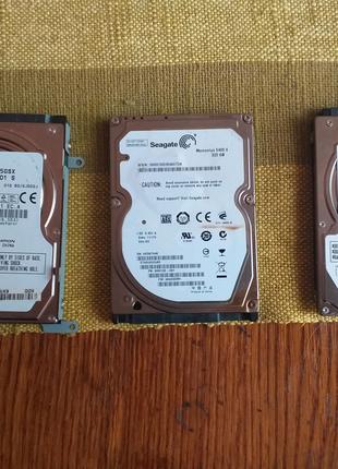 Жорсткий диск для ноутбука TOSHIBA/SEAGATE/250GB/320GB
