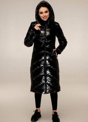 Пуховик с капюшоном, пальто зимнее стеганое.