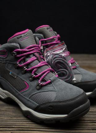 Водонепроницаемые ботинки с высокой посадкой hi-tec storm ориг...