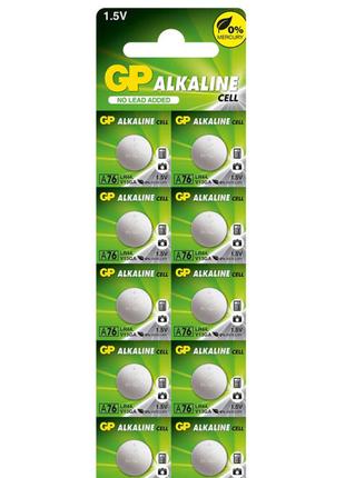 Батарейка GP Alkaline LR44(А76,АG13) 1,5 V