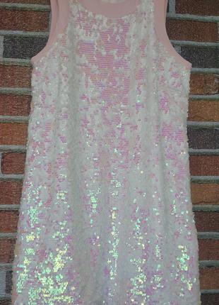 Коктельное платье Missguided L  в паетках перевертышах